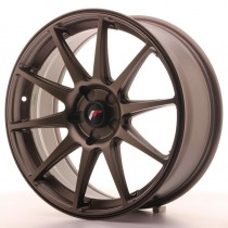 Japan Racing JR11 18x7,5 blank dark bronze