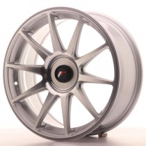 Japan Racing JR11 18x7,5 blank silver machined