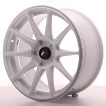 Japan Racing JR11 17x9 blank white