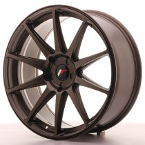 Japan Racing JR11 20x10 blank matt bronze