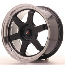 Japan Racing JR12 17x8 Blank black