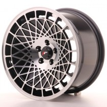 Japan Racing JR14 15x8 ET20 4x100 Black Machined