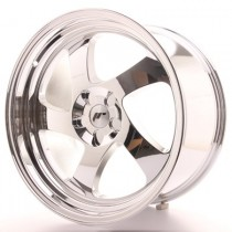 Japan Racing JR15 17x9 Blank Vacum chrome