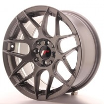 Japan Racing JR18 16x8 Gun Metal