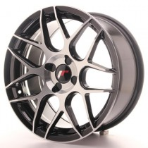 Japan Racing JR18 17x7 Blank black machined