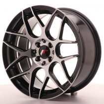 Japan Racing JR18 17x7 black machined