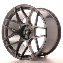 Japan Racing JR18 18x7,5 Blank Hiper Black