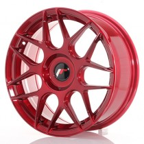 Japan Racing JR18 17x8 blank platin red