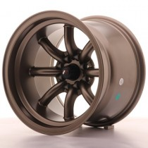 Japan Racing JR19 15x9 matt bronze