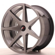 Japan Racing JR20 20x11 Blank hyper black