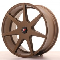 Japan Racing JR20 20x10 Blank matt bronze
