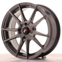 Japan Racing JR21 21x10 Blank hyper black