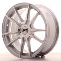 Japan Racing JR21 18x8,5 blank silver machined