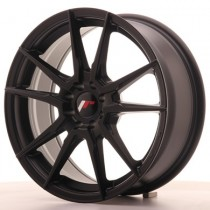 Japan Racing JR21 17x8 Blank matt black