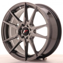 Japan Racing JR21 17x9 hyper black