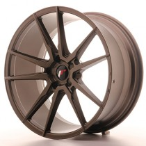 Japan Racing JR21 20x8,5 Blank matt bronze