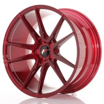 Japan Racing JR21 17x7 Blank platinum red