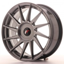 Japan Racing JR22 17x7 Blank Hyperblack