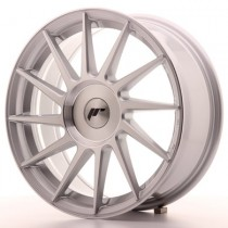 Japan Racing JR22 17x8 Blank Silver mach