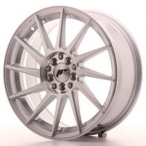 Japan Racing JR22 17x7 ET25 4x100/108 Silver Mach