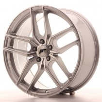 Japan Racing JR25 20x10 Blank machined silver