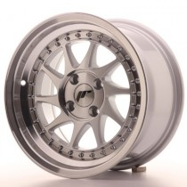 Japan Racing JR26 17x8 machined silver