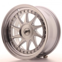 Japan Racing JR26 16x9 blank machined silver
