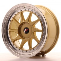 Japan Racing JR26 17x10 74.1 blank gold