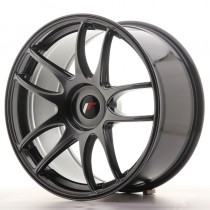 Japan Racing JR29 17x8 blank hyper black