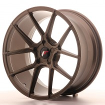 Japan Racing JR30 20x10 blank matt bronze