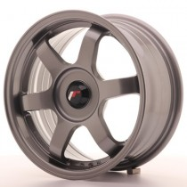 Japan Racing JR3 15x7 blank gun metal