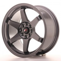 Japan Racing JR3 16x8 dark grey