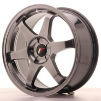 Japan Racing JR3 17x8 blank hyperblack