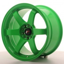 Japan Racing JR3 17x8 green
