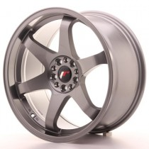 Japan Racing JR3 16x8 gun metal
