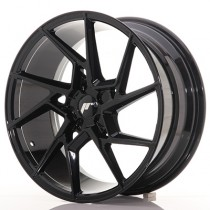Japan Racing JR33 20x10 blank glossy black