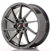 Japan Racing JR36 18x9 hyper black