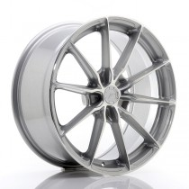Japan Racing JR37 19x8,5 5x112 ET45 66,6 silver machined face