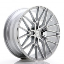 Japan Racing JR38 20x10 blank silver machined face