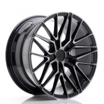 Japan Racing JR38 20x9 blank black brushed
