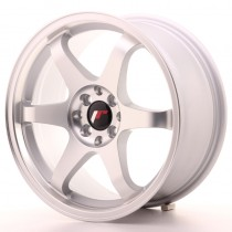 Japan Racing JR3 17x8 matt silver machined