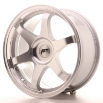 Japan Racing JR3 18x8 blank silver machined