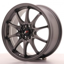 Japan Racing JR5 15x8 matt gun metal