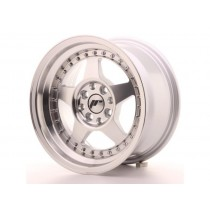 Japan Racing JR6 15x7 Blank machined silver