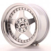 Japan Racing JR6 16x7 ET25 4x100/108 Machined Silver