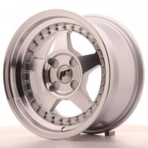 Japan Racing JR6 17x8 Blank machined silver