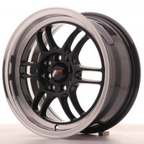 Japan Racing JR7 15x7 ET38 4x100/114 Glossy Black