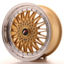 Japan Racing JR9 18x8 blank gold