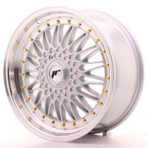 Japan Racing JR9 18x8 machined silver