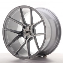 Japan Racing JR30 20x8,5 blank silver machined